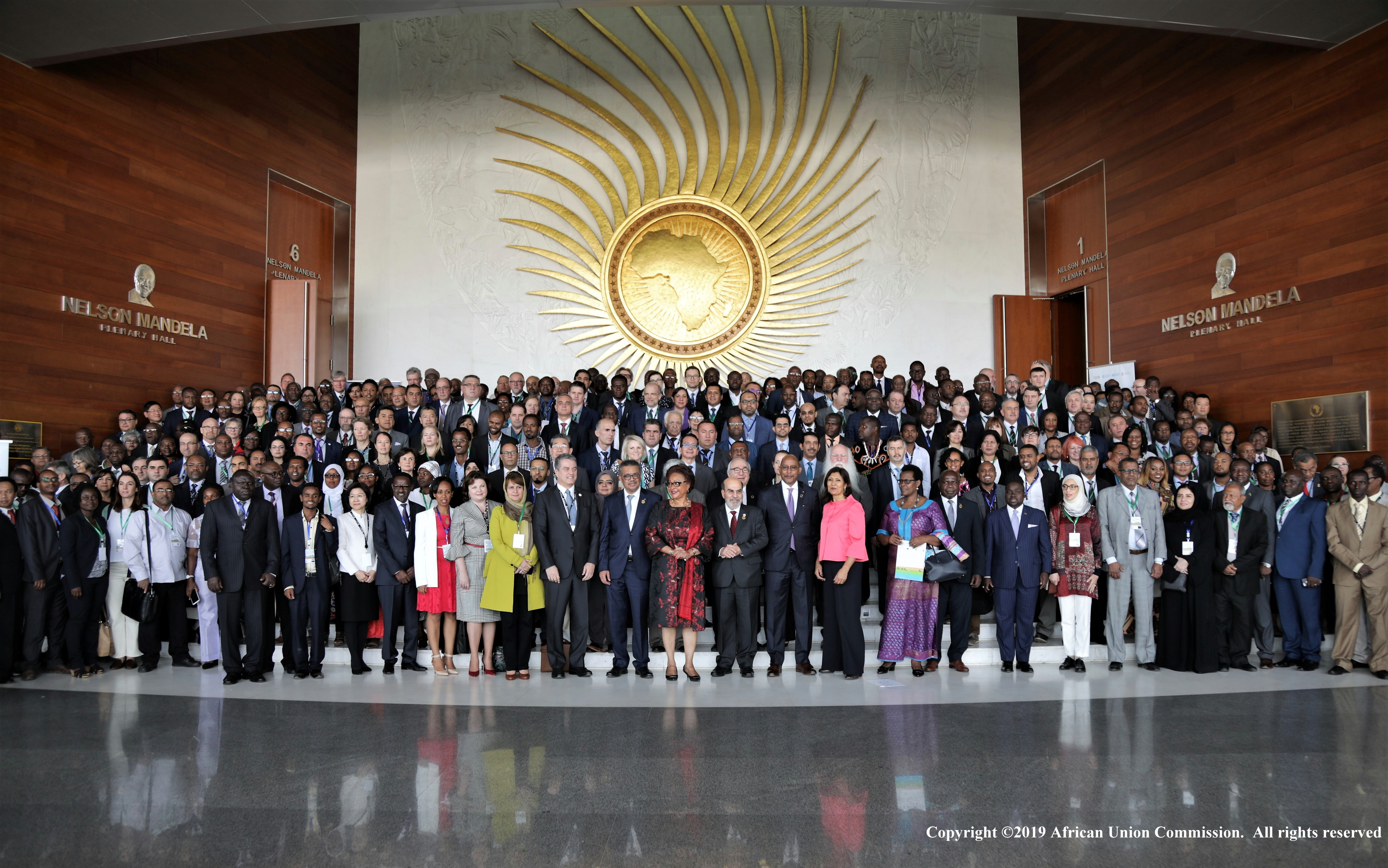 Participants photo: The First FAO/WHO/AU International Food Safety Conference