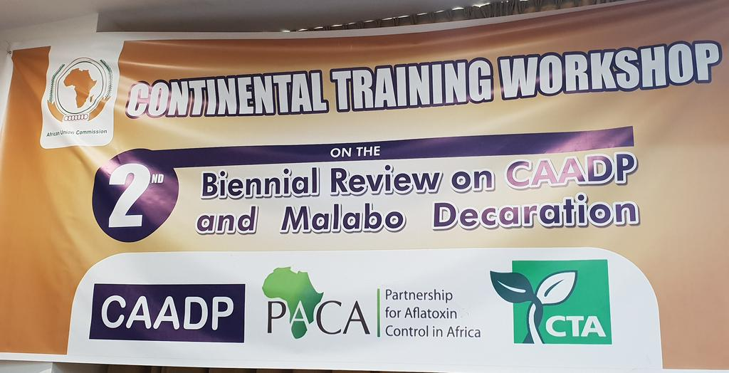 Food Safety Index introduced and trained at the Continental Training on the CAADP Biennial Review Reporting Tools March 18-22, 2019, Accra ,Ghana