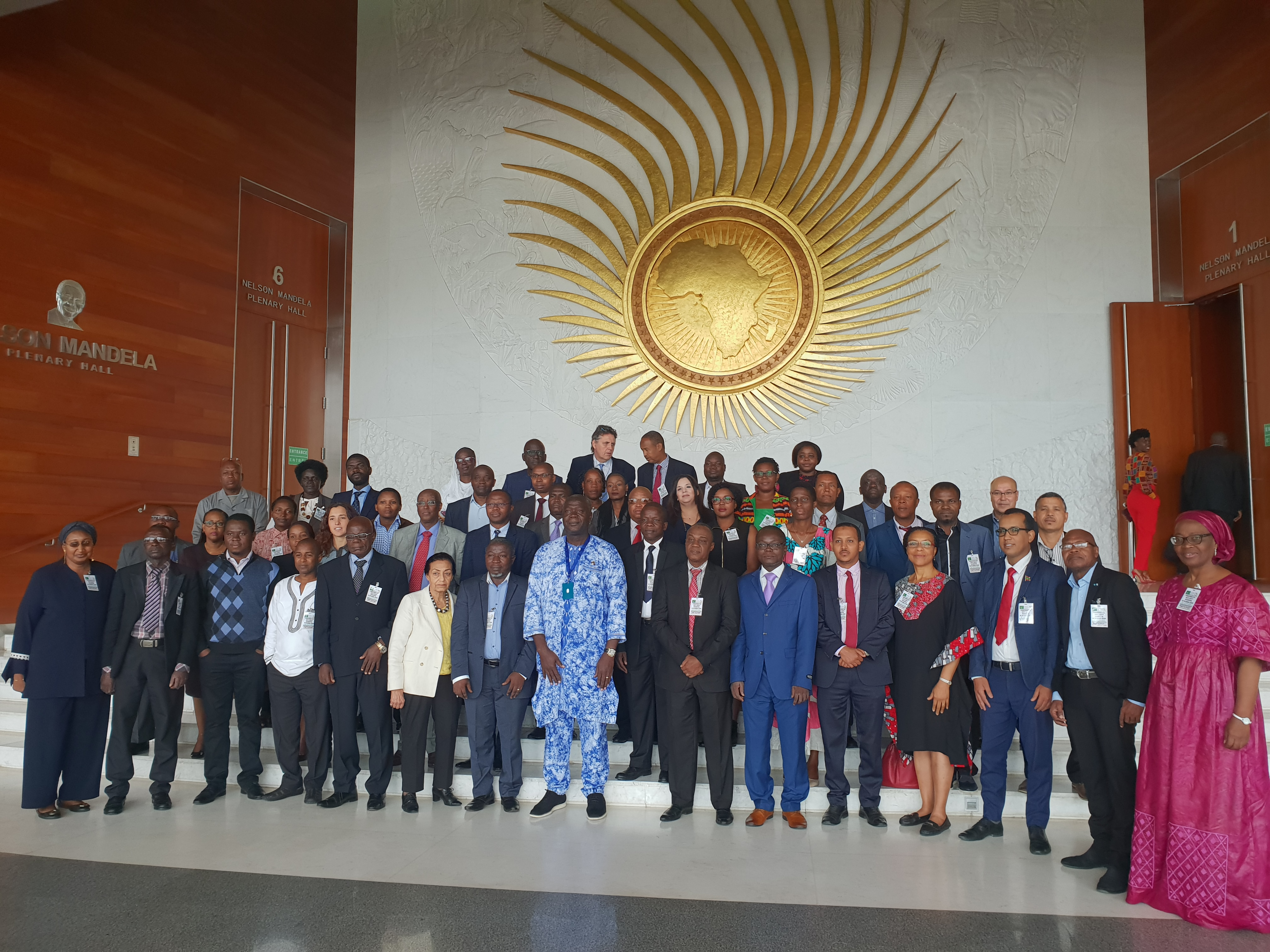 Strengthening Food safety capacity for Reporting on the Biennial Review, a workshop for AU member states and RECs.