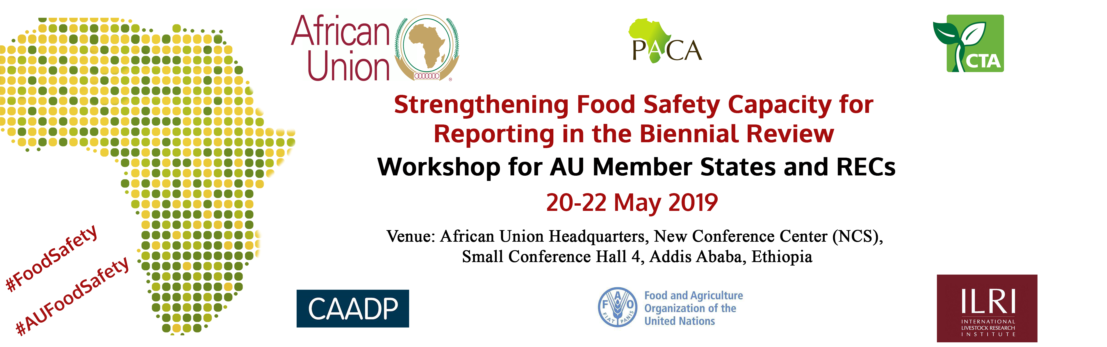 Workshop on strengthening food safety capacity for reporting in the biennial review